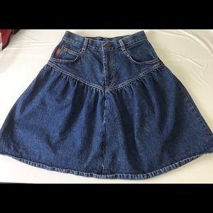 Vintage Levi's high waist skirt